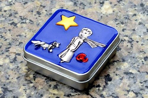 ..Malý princ.. boxík, krabička