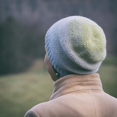 Čepice Gradient Green