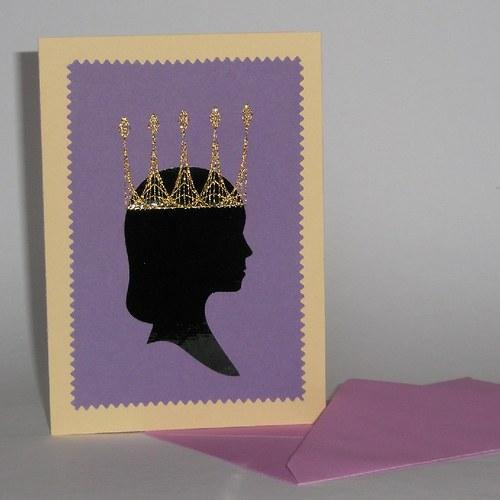 Královna fialová
