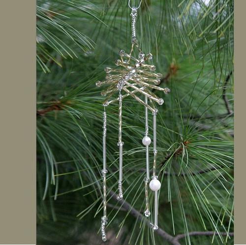Vánoční ozdoba - zlatá girlanda Vo-OZ 014