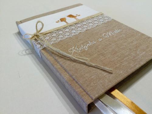 """Zápisník /deník ,,zamilovaní ptáčci \""""A5, 200 stran"""