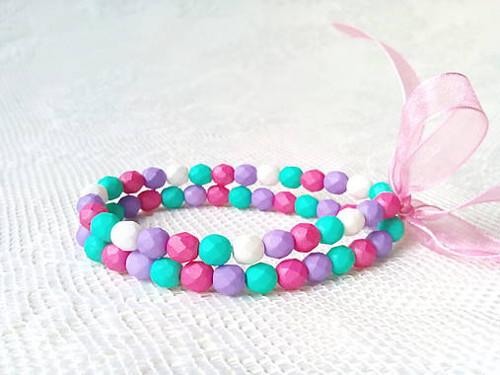 Watermelon paradise bracelet