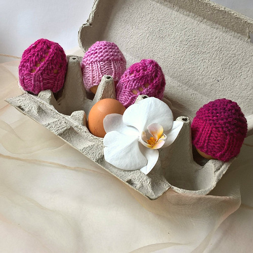 Čepičky na vajíčka - sada 4 ks