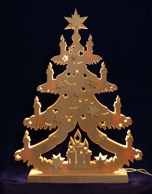 Světelný vánoční oblouk - Stromek