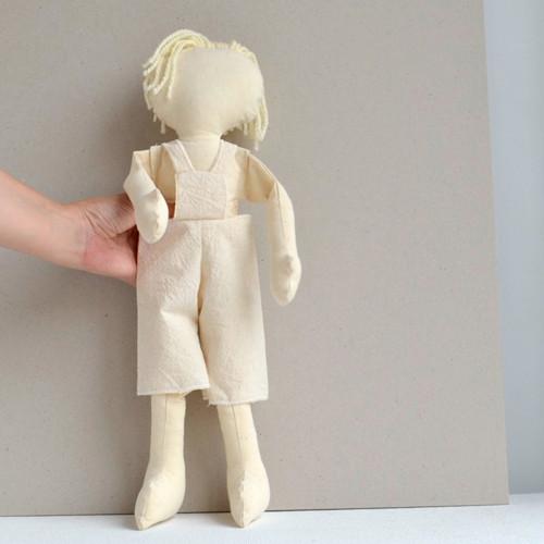 kraťasy s laclem pro panenku či panáčka