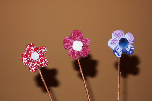 Zápich do květináče