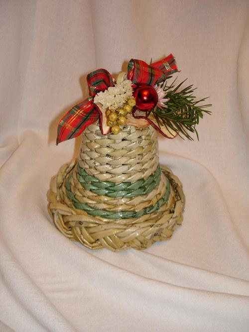 pletený zvoneček
