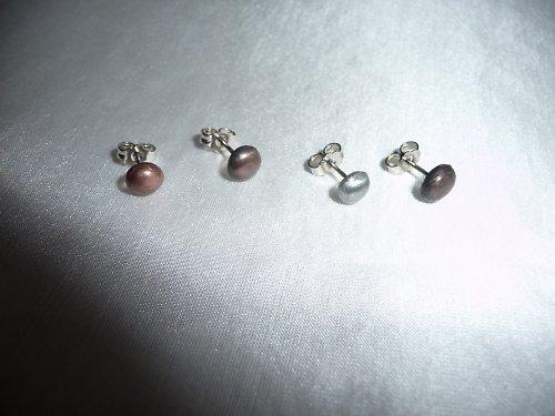 minináušnice ke kovovým šperkům