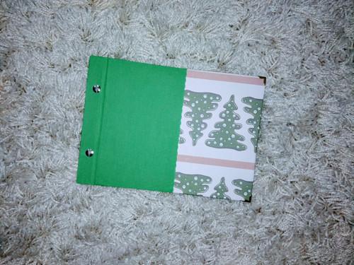Vánoční album - zelené