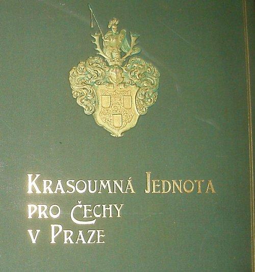 Velké album krasoumné jednoty na rok 1902