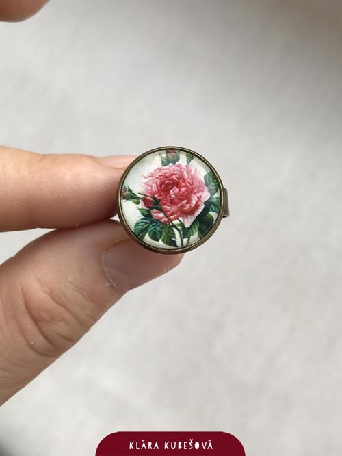 Růže - prsten