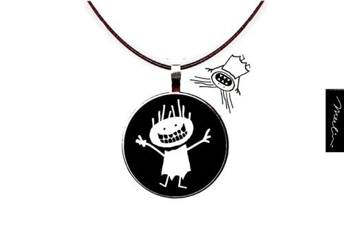 Antibubák - přívěsek - amulet proti bubákům