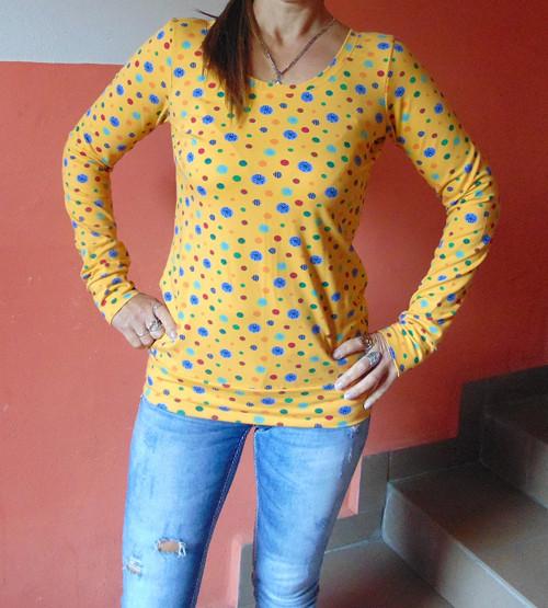 tričko sluníčkové