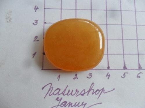 Kalcit oranžový KO19 (3,5x3,2x0,8cm)