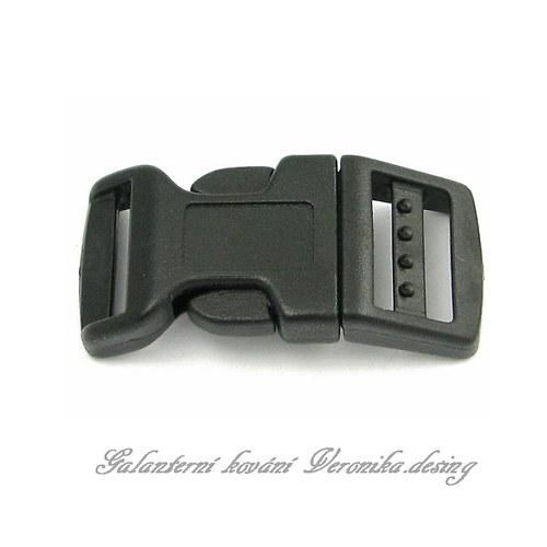 Plastový trojzubec 10 mm - oblouček