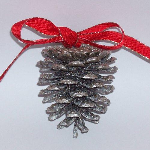Vánoční ozdoby - stříbrné