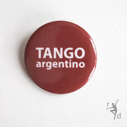 Placka TANGO ARGENTINO (Odznak)