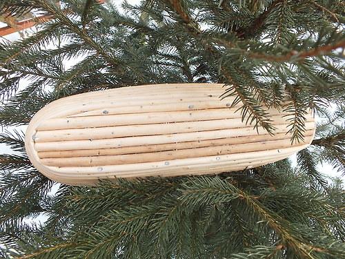 ošatka na kynutí chleba ovalná na 1 kg těsta