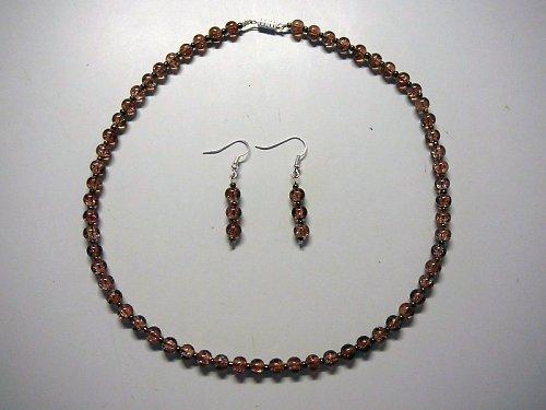 Náhrdelník - práskané korále   SLEVA