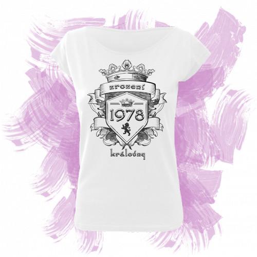 Tričko elegance s motivem zrození královny 6