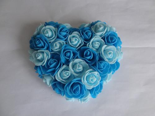 Srdíčko z pěnových růží