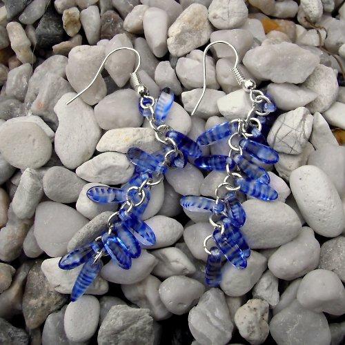 náušnice Kapky moře