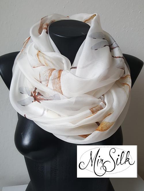 Hedvábný nekonečný šátek, P00020
