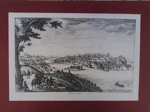 Praha  -  obrázek z Mozartovy Bertramky