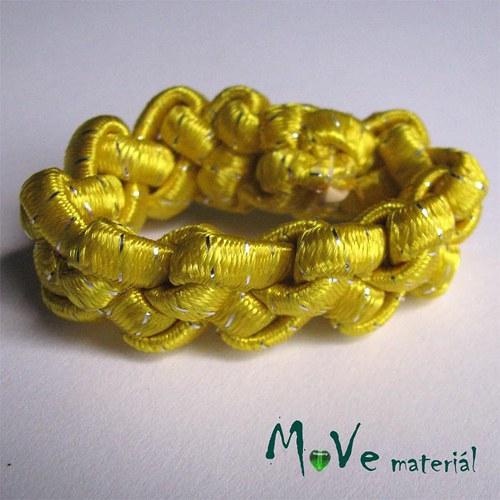 Gumička copánek na úpravu žlutá1ks