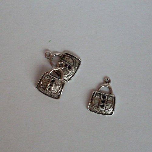 Kabelky,přívěsky I - tibet. stříbro 2ks