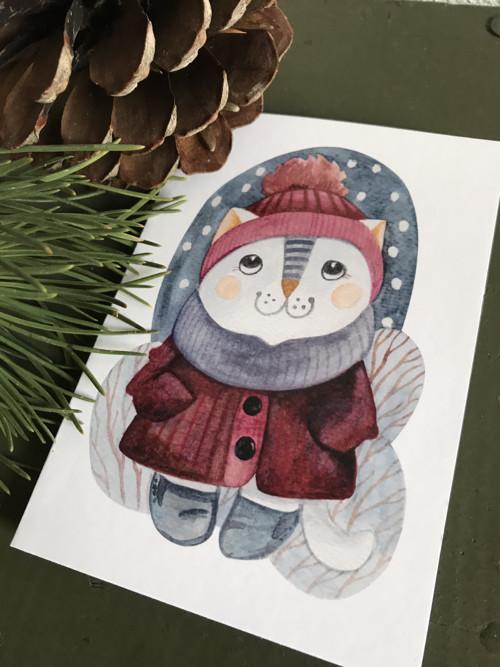 Vánoční přání... motiv č.3