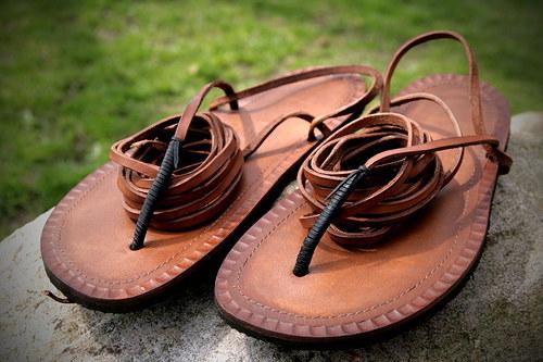 Sandále Tarahumara