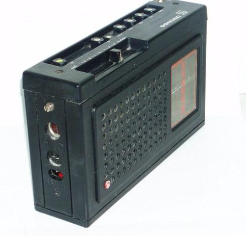 TESLA - stolní rádio DOMINO - 80.tá léta