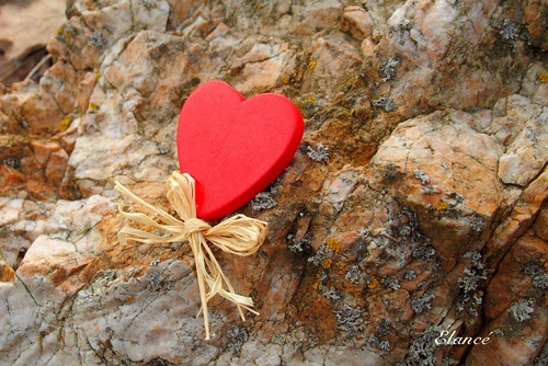 Srdce na kameni