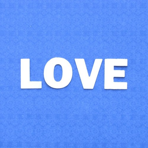 LOVE - písmenka
