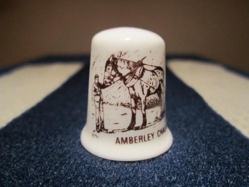 Sběratelský náprstek Anglie - Amberley Chalk Pits