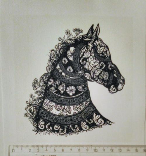 bavlněný panel  14 x 16 cm
