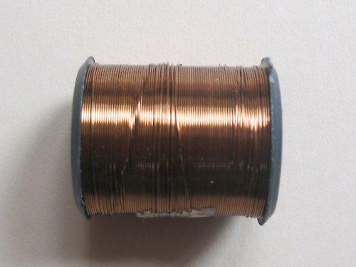 drátek 0,3 mm barva světle hnědá