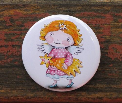 andělka Amálka...  špendlík