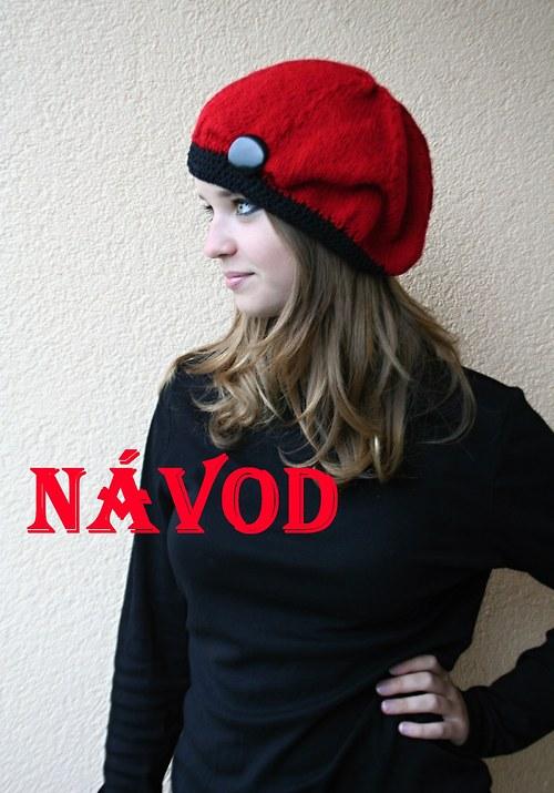 Návod na pletenou čepici **pdf či pošta