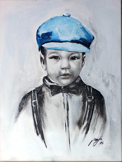 Portrét podľa fotky na objednávku
