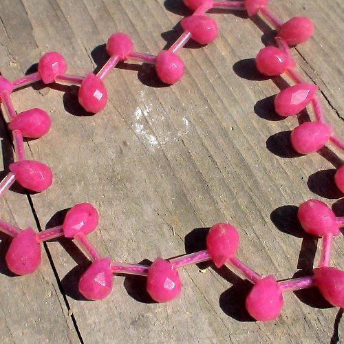 růžový jadeit-2 kusy