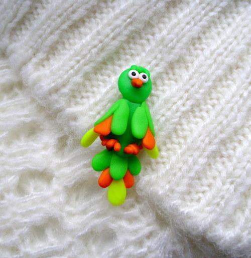 Papoušek - brož