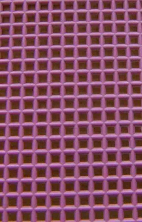 Plastová kanava I - tmavě růžová