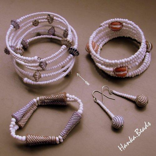Šperky z perníkové chaloupky - náramek širší