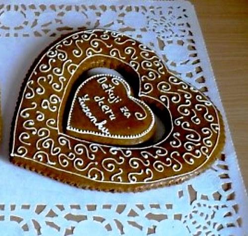 děkovná srdce-jemné zdobení