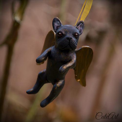 Strážny anjel - francúzsky buldoček