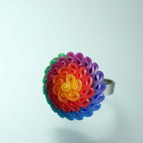Prsten pastelový
