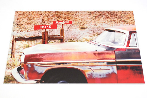 Big mistake - Route 66 podruhé - plechová cedule