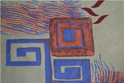 Dekorační látka - rozmanité tvary